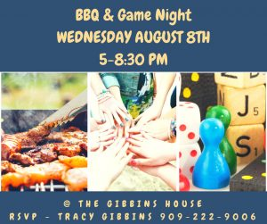 FB BBQ & Game Night